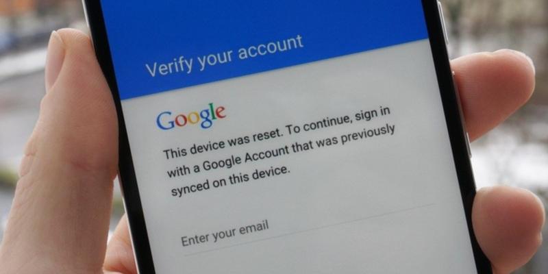 Удалить аккаунт гугл с телефона