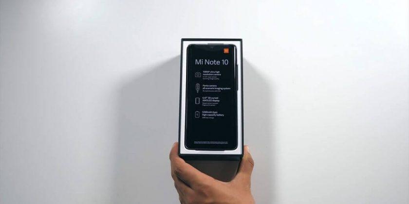 обзор Xiaomi Mi CC9 Pro