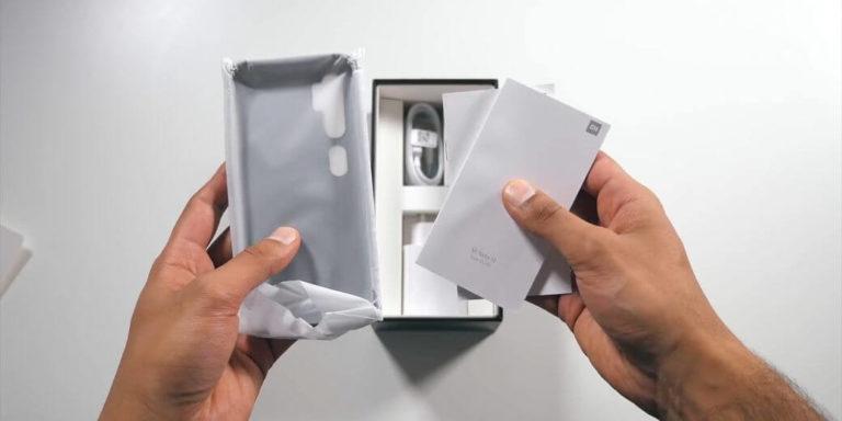 Распаковка Xiaomi Mi CC9 Pro