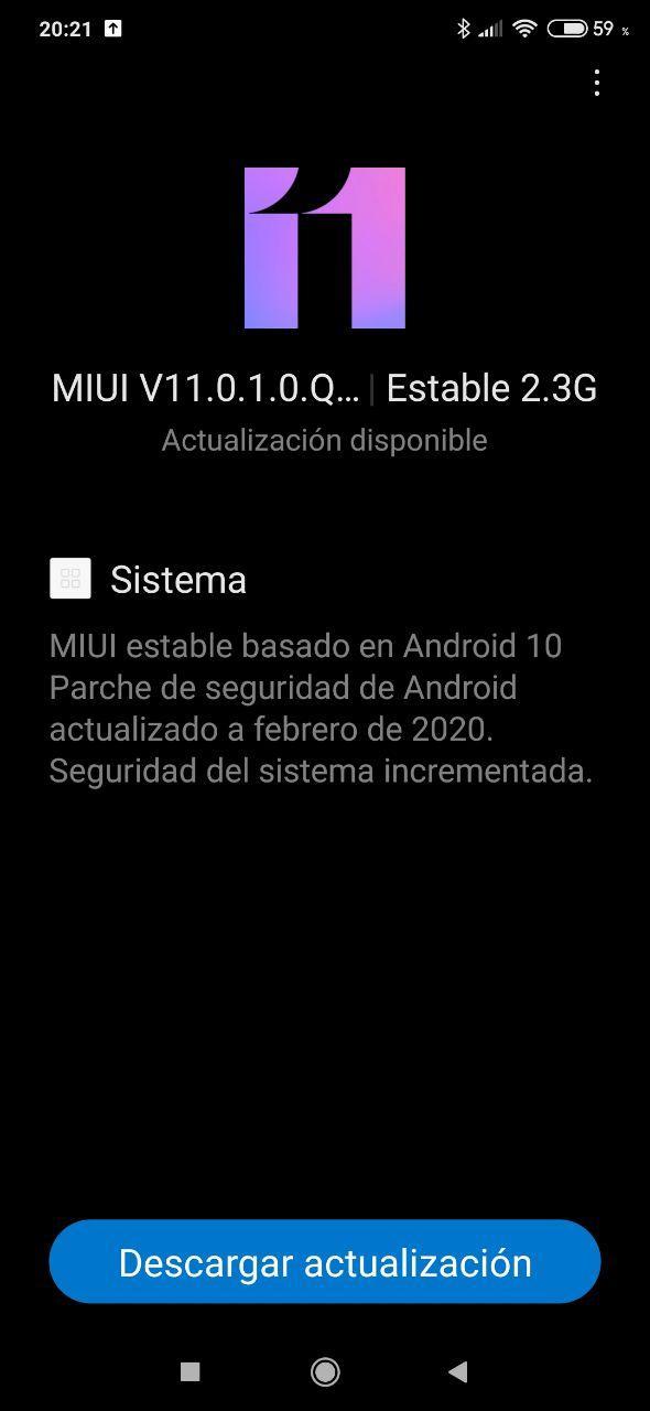 Xiaomi Mi 9 Lite  Android 10