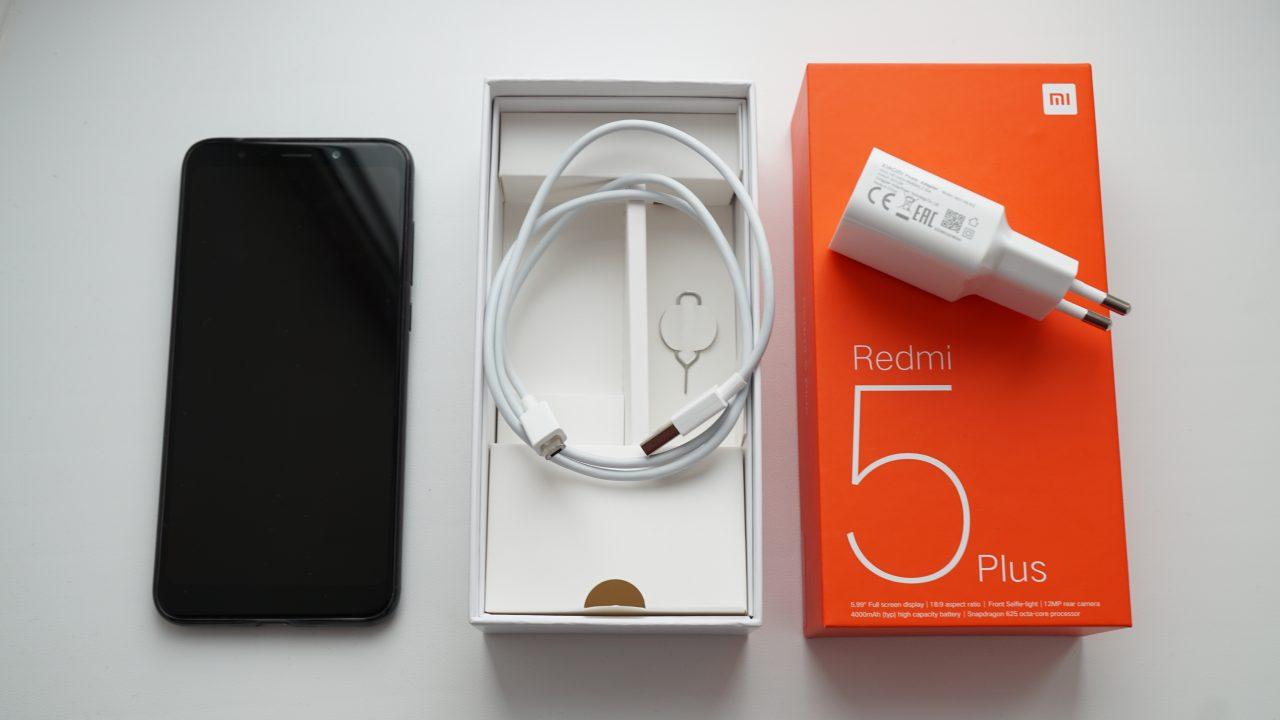 Redmi 5 черный дисплей