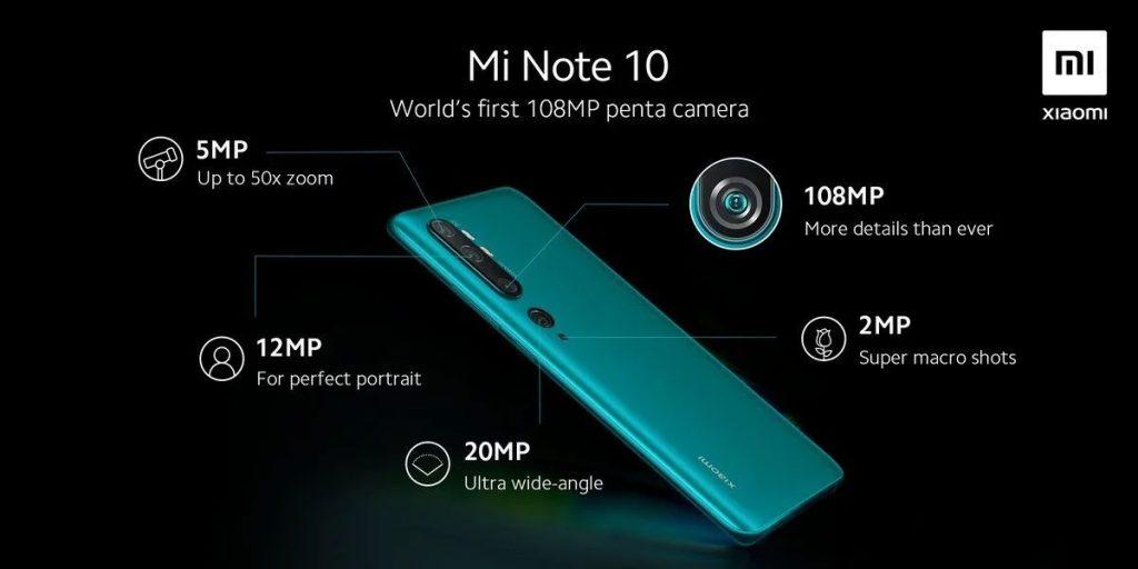 В тесте AnTuTu Xiaomi Mi Note 10 набрал 265119